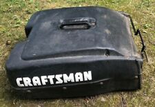 Craftsman Grass Catcher Bag Frame Lawn Mower Hard Clam Shell All Plastic