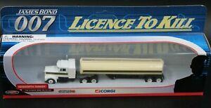 Corgi Diecast TY07201 - Kenworth Tanker - Bond 007 Licence To Kill H6.137