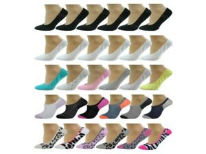 Invisible Trainer Socks Liners Ballerina No Show Womens Adults Ladies 6 Pairs