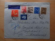 Cover Envelop Nederlands Indie Indonesia Java Luchtpost Par Avion Dordrecht 1947