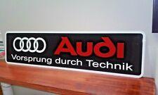 """Audi Metal Sign  6"""" x 24"""""""