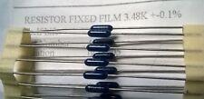 50pcs 3.48K 0.1%  Fixed Film Resistors