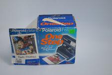 Polaroid 600 One Step Flash Instant Film Picture Camera Vintage Black Kk7B