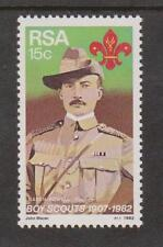 RSA SOUTH AFRICA 1982 - 75th Anniversary Boy Scout Movement SG 504 MNH SCOUTING