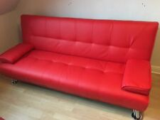 Unbranded Faux Leather Sofa Beds