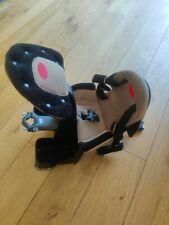 WeeRide Deluxe Mid Mounted Baby Childs Bicycle Bike Seat (Beige)