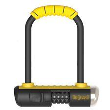OnGuard Bulldog MINI 8013C Combo U-Lock Track Bike Hardened Pocket U Lock