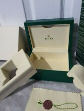 Leather Rolex Watch Box new edition With Accessories & Bag & outer box