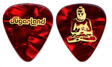 SUGARLAND Guitar Pick : Love On The Inside 2008 Tour - Buddah red pearl
