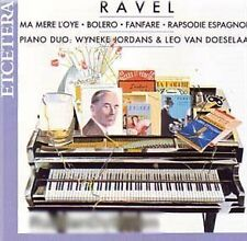 Ravel - Piano Music, Four Hands Leo van Doeselaar, Wyneke Jordans  RAR! Neu