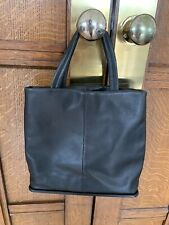 M&S Real Leather Tote Bag