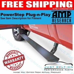 AMP PowerStep Plug N Play 2015-2018 Silverado 3500 HD Gas CC/DC 76154-01A Black