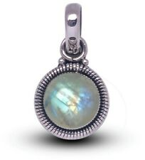 Superb 925 Sterling Silver MOONSTONE Gemstone Necklace Pendant Gift Boxed