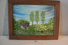 C81 Peinture sur Toile Jacques Bossart