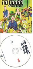 GWEN STEFANI NO DOUBT SETTLE DOWN RARE FRENCH PORMO CDS IN CARD PS