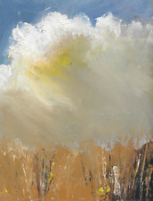 More details for original acrylic painting signed wheatfields  sw ward ma fine art