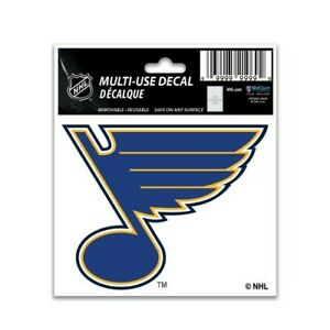 """ST. LOUIS BLUES 3""""X4"""" MULTI-USE DECAL PERFECT FOR CAR WINDOWS"""