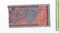 1950 Sugar Bowl college football ticket stub Oklahoma Sooners v LSU Tigers