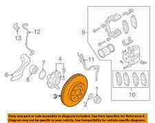 GM OEM Front Brake-Disc Rotor 96471275