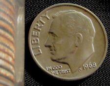 1968 Philadelphia Mint Roosevelt Dime BU