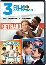 Get Hard (2015) / Semi-Pro / The Campaign (2012) (2 Disc) DVD NEW