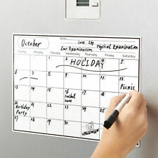 Fridge Magnet Calendar Dry Erase Whiteboard Weekly Monthly Planner To Do List