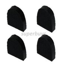 Rubber Shoe High Heels 1.9cm x 2.5cm Stiletto Cap Repair Kit, 4 Heel & 12 Nails
