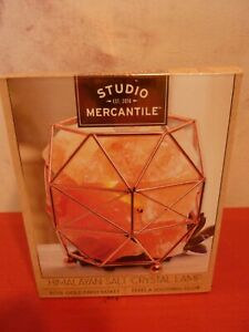 Studio Mercantile Himalayan Salt Crystal Lamp Basket-------NIB