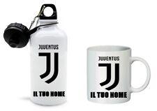 Borraccia + Tazza PERSONALIZZATA con nome Juventus calcio Juve