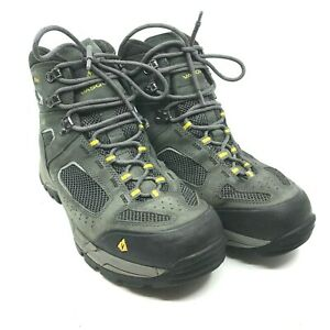 Vasque Breeze 2.0 GTX Men's Size 10 W Grey Black Gore-Tex Mid Hiking Boots [26]