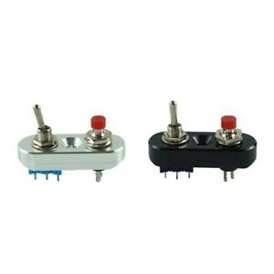 CNC Motorcycle Handlebar Switch Headlight Horn On/Off Button Control Switch