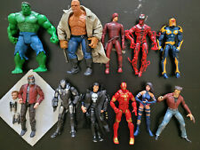 marvel legends lot and more, Starlord, hulk, the thing, etc Toybiz figures dared
