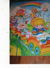 1983 Rainbow Brite puzzle in the box. 100 pieces. On roller coaster complete