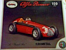 Revival 1/20 scale Alfa Romeo 159 Grand Prix F1 1951  model kit NEW
