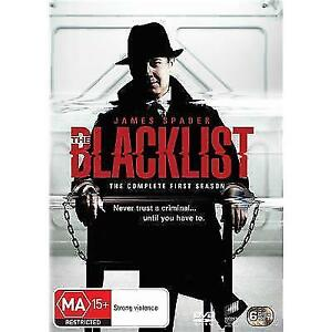 The Blacklist Season 1 ONE COMPLETE DVD 6 DISC_OVER 15 HOURS_Crime Drama Series