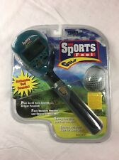 Tiger Electronics Co. Ltd Sports Feel Golf Handheld Game, Tested, W/ Open Pack