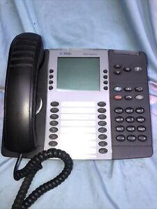 Mitel 8568 (2) + 8528 (1) LCD Display Office Phone with Stand Part # 50006123