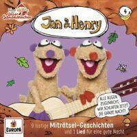 JAN & HENRY - 004/9 RÄTSEL UND 1 LIED   CD NEU