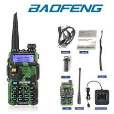 Baofeng UV-5R Walkie Talkie UHF/VHF Dual Band Two-Way Radio +Earpiece Camouflage