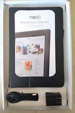 Barnes & Noble Nook HD+ 16GB, Wi-Fi, 9in - Slate Tablet BNTV600 IOB **TESTED**