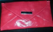 MARY KAY Lipstick Red Metro Chic Envelope Make up Cosmetic Purse Clutch Wallet