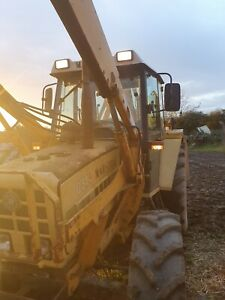 Steyr / Marshall D844 Tractor c/w loader and hedgecutter