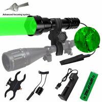 Green Red White Led Hunting Light Kit Coyote Varmint Hog Night Hunt Flashlight