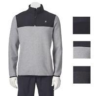 New Fila Sport Men's Big & Tall Colorblock 1/4-Zip Fleece Pullover MSRP $60
