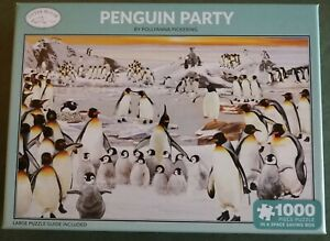 BRAND NEW PENGUIN PARTY by POLLYANNA PICKERING 1000 PIECE JIGSAW PUZZLE