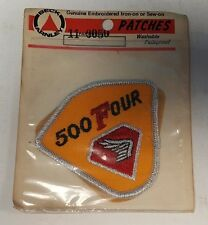 NOS BECK ARNLEY VINTAGE HONDA CB500 FOUR GENUINE EMBROIDERED IRON SEW ON PATCH