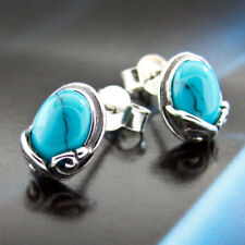 Türkis Silber 925 Ohrringe Damen Schmuck Sterlingsilber S165