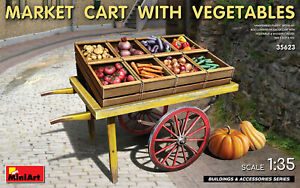 MiniArt 35623 Market Cart with Vegetable 1/35