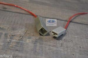 Lada 1 Pin Male + Female Wire Connector Set