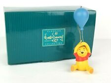 "Walt Disney Classic Collection Figurine ""Winnie the Pooh with Balloon"" Figure"